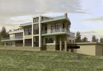 Дом с каскадом террас