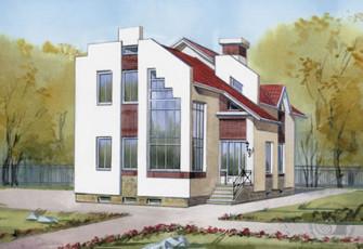 Газобетонный дом в Уфе