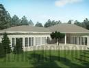 Одноэтажный дом с бассейном 258 кв.м.
