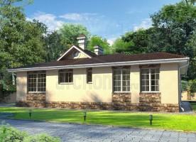 Типовой проект одноэтажного дома на 142 квадрата