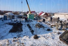 Очистка территории под фундамент