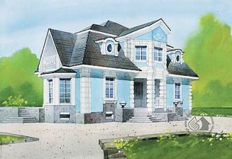 Особняк в стиле дворцовой архитектуры
