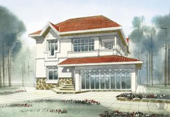 Два этажа - это классика домостроения