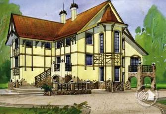 Особняк в готическом стиле