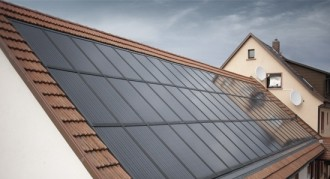 Отопление домов солнечными батареями