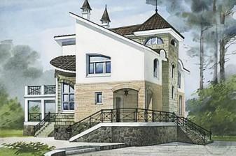 Четырехэтажный особняк
