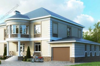 Красивый дом с колоннами 460 кв.м.