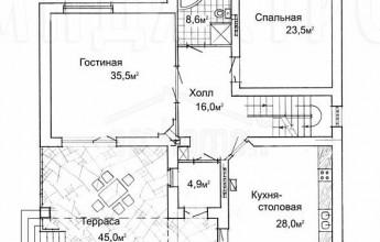 Дом на 379 квадратов