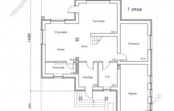 Дом с мансардным этажом 208 кв.м.