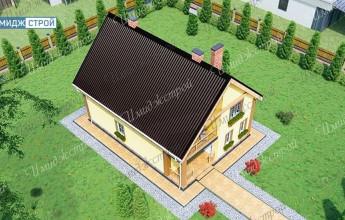 Уютный дом с мансардой 145 кв.м.