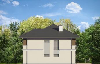 Дом в американском стиле Райт 159 кв.м.
