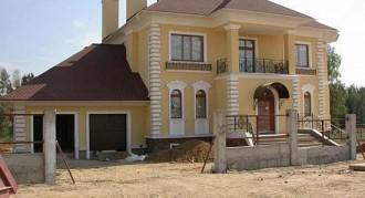 Ремонт фасада коттеджей