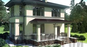 Проекты домов и коттеджей 120 кв.м.