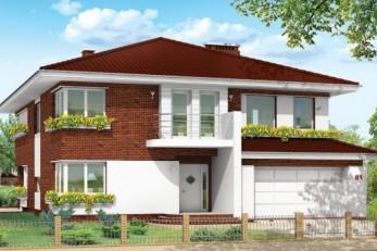 Полноценный дом для умеренных широт 385 кв.м.