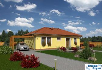 проект одноэтажного дома 100 кв.м.