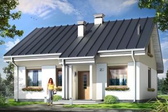 Небольшой дом с мансардой 132 кв.м.