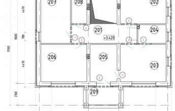 Отличный коттедж в двух вариантах 197 кв.м