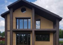 Строительство коттеджа из типовых материалов