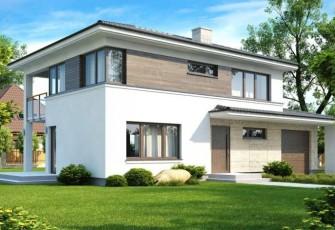Интересный проект дома 164 кв.м.