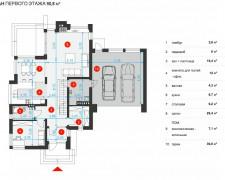 Проект с дорогим фасадом плюс ФОТО 298 кв.м.