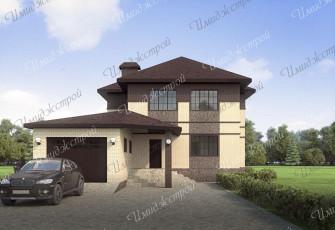 Светлый стильный дом