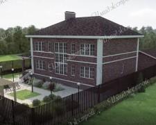 Коттедж-проект для Зубово 322 кв.м.