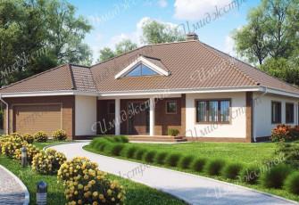 Просторный дом на 220 м2 Коттедж в минималистическом стиле на 220 м2