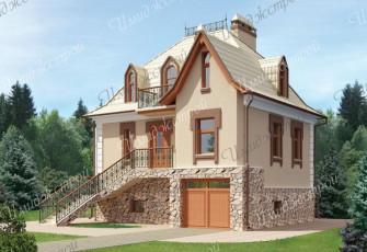 Компактный дом 127 кв.м.