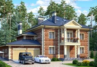 Особняк в английском стиле на 452 м2 Роскошный дом в английском стиле