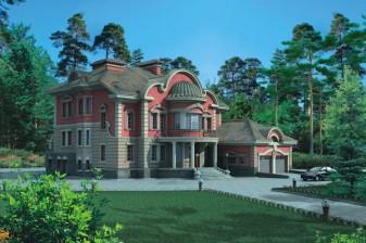 Дворцовый вариант дома 740 кв.м.