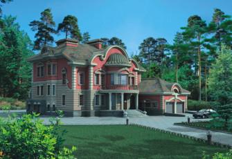 Дворцовый вариант дома
