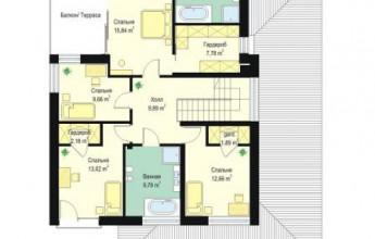 Дом в стиле Райта  220 кв.м.