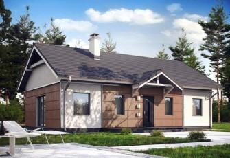 бесплатный проект дома из кирпича