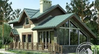 Проекты домов и коттеджей 100 кв.м.