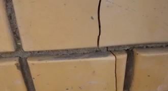 Трещины в стенах. Причины появления.