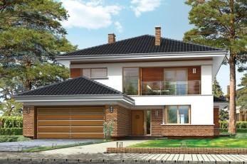 Дом в архитектурном стиле Райта  250 кв.м.