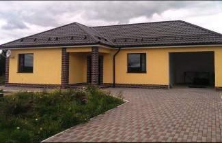 Одноэтажный коттедж в Нагаево 135 кв.м.
